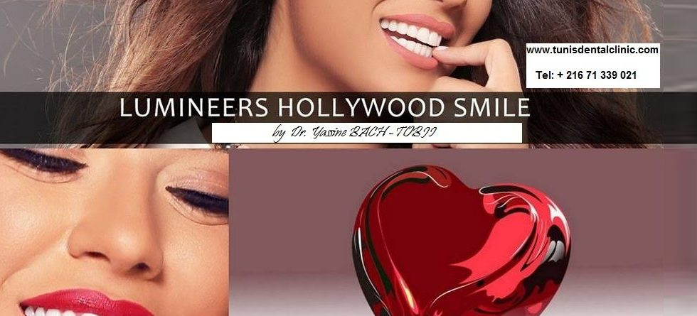 Smiling hollywood